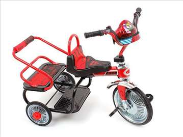 Tricikl za decu sa dva sedišta