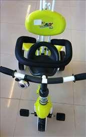 Tricikl za decu zeleni