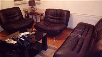 Trosed i dve fotelje dnevni boravak