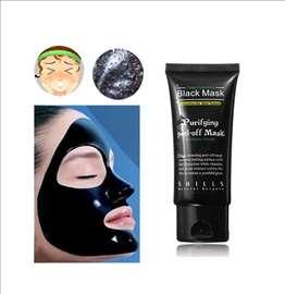 Crna maska za lice - čišćenje pora i mitesera