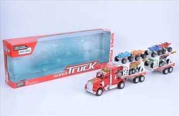 Kamion sa prikolicom igračka za decu