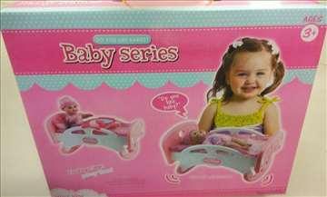 Krevetić za lutke set igračka
