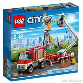 Lego kocke vatrogasni kamion set