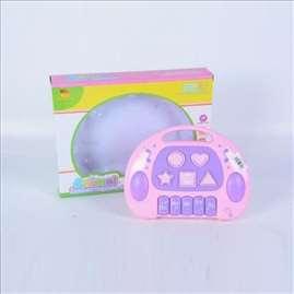 Muzička igračka za bebe roze