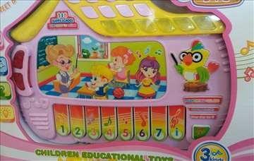 Muzička zabavna škola, igračka za decu