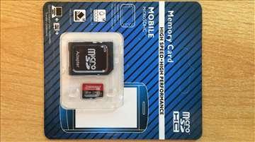 Transcend microSDXC Premium 400x 64GB + adapter