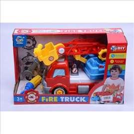 Vatrogasni kamion set igračka