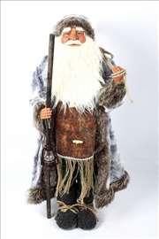 Veliki deda mraz sa štapom i fenjerom