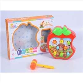 Zabavna jabuka igračka set