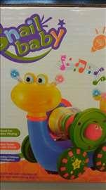Zabavni puž igračka za decu