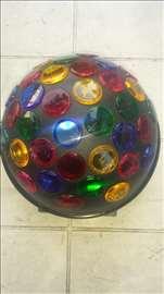 Disko kugla u više boja