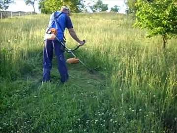 Košenje trave i korova - sečenje drveća