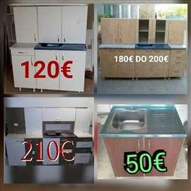 kuhinje vec od 120€ u svim bojama po meri