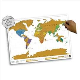 Velika greb mapa sveta