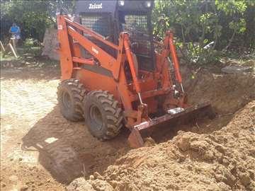 Priprema gradilišta i sređivanje placa