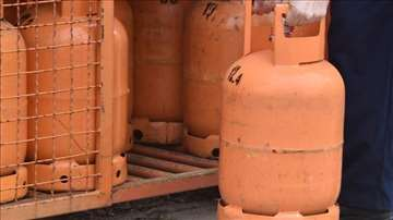 Dostava plinska butan boca za domaćinstvo -  GAS