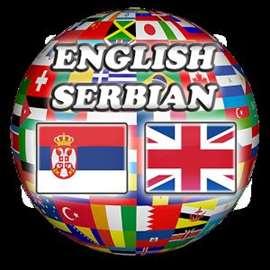 Prevođenje sa srpskog na engleski