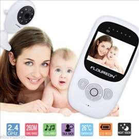 Baby monitor kamera sa ekranom i Temp senzorom