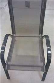 Baštenska stolica crna