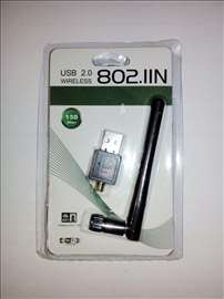 WiFi adapter USB sa demontažnom antenom