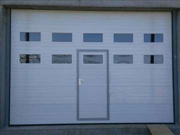 Garažna vrata za 2 parking mesta