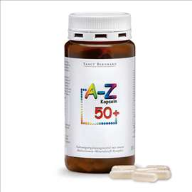 Multi vitamini i minerali A-Š za 50+ god. 150kaps.