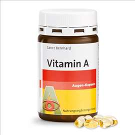 Vid - Vitamin A, 180 kaps. Made in Germany