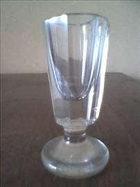 Čaša za žestoko piće, od debelog stakla