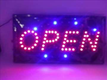 Led Svetleća Reklama/Bilbord-Open/Close