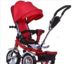 Tricikl za decu Playtime Roto Crveni