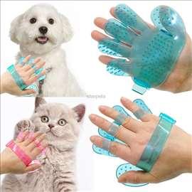 Ekstra gumena četka za kratkodlake pse i mačke