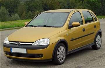 Šoferšajbna za  Opel Corsa-u