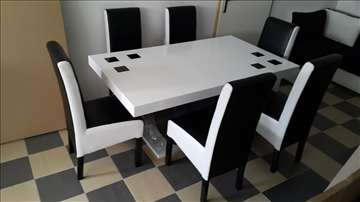 Sto i 6 stolica 260eura Akcija