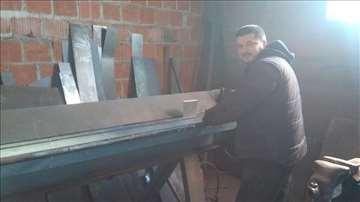 Izrada metalnih delova i konstrukcija
