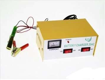 Punjač za Akumulator 12-24V 20A - novo