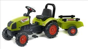 Traktor na pedale claas sa prikolicom