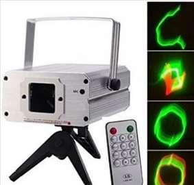 Profi laser za zurke, kafice, diskoteke - novo