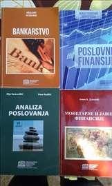 Knjige za 1. 2. i 3. godinu Vise Poslovne Skole