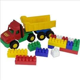 Kamion i kocke set