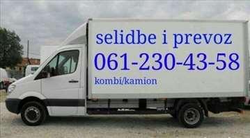 Prevoz robe Beograd i okolina