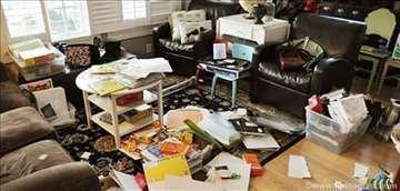 Čišćenje stanova i odnošenje nepotrebnih stvari