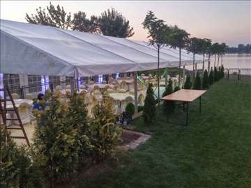 Exluzivni beli šator