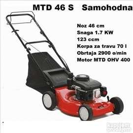 Samohodna motorna kosilica MTD 46 S, OHV motor