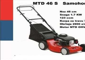 Samohodne motorne kosilice, više modela u ponudi!