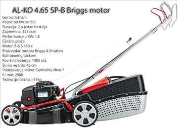 Samohodna motorna kosilica AL-KO 4.65 SP-B