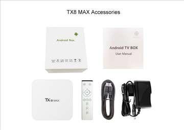 TX8 MAX 3gbramddr4 16rom octacoreandroidbox s912 a