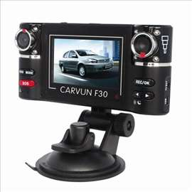Autokamera F30 sa 2 kamere novo-Dual kamera