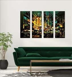 Komplet četiri slike – Grafika Grad