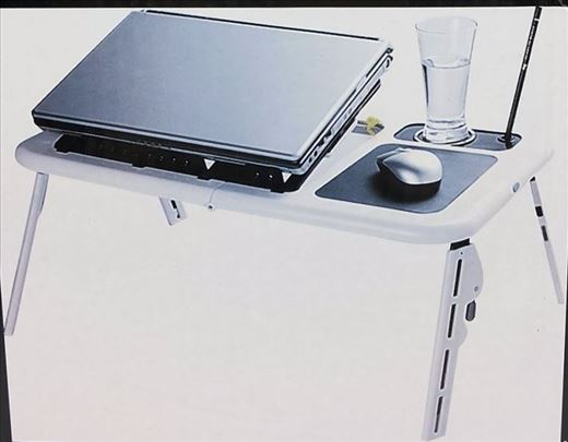Rasklopivi sto za laptop sa kulerima novo-E-Stand