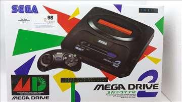 Sega Mega Drive 2 novo